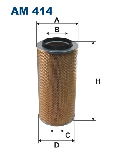 Filtr powietrza AM 414 [AM414] FILTRON