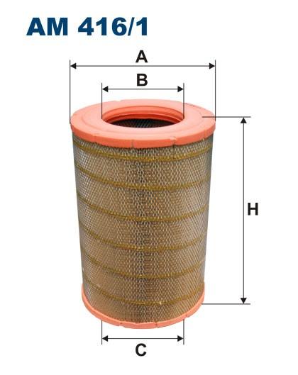 Filtr powietrza AM 416/1 [AM4161] FILTRON