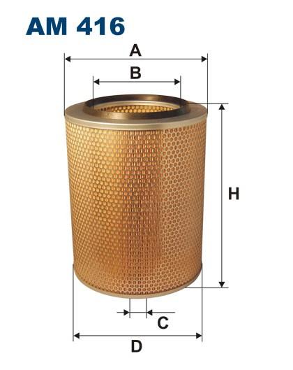 Filtr powietrza AM 416 [AM416] FILTRON