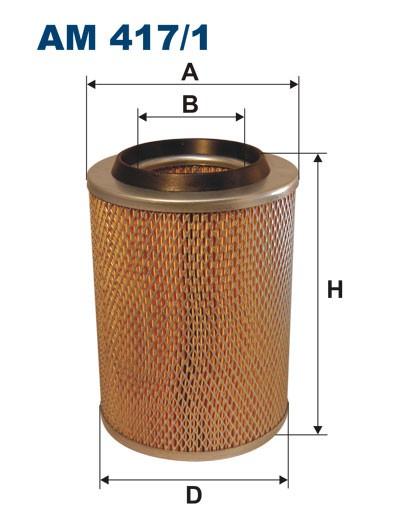 Filtr powietrza AM 417/1 [AM4171] FILTRON