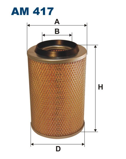 Filtr powietrza AM 417 [AM417] FILTRON