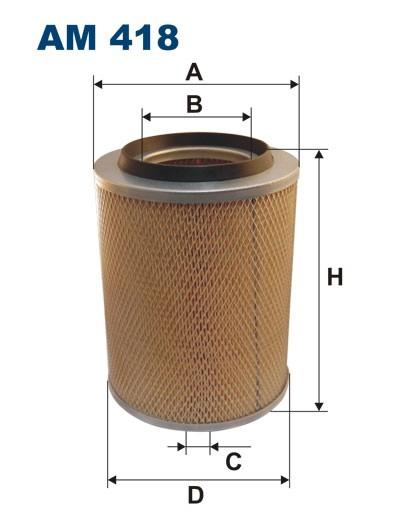 Filtr powietrza AM 418 [AM418] FILTRON