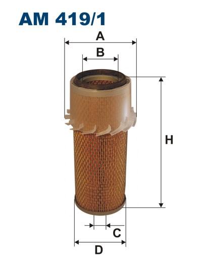 Filtr powietrza AM 419/1 [AM4191] FILTRON