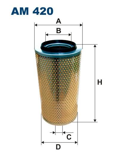 Filtr powietrza AM 420 [AM420] FILTRON