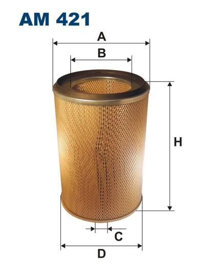Filtr powietrza AM 421 [AM421] FILTRON