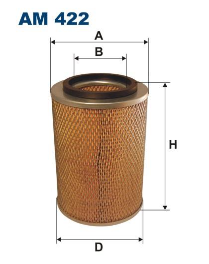 Filtr powietrza AM 422 [AM422] FILTRON