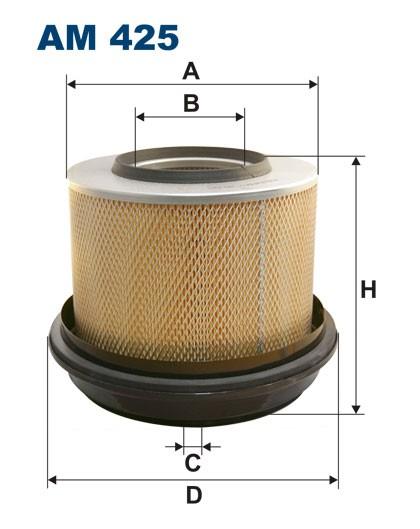 Filtr powietrza AM 425 [AM425] FILTRON