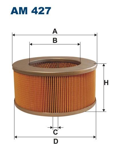 Filtr powietrza AM 427 [AM427] FILTRON