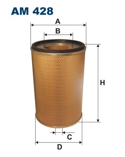 Filtr powietrza AM 428 [AM428] FILTRON