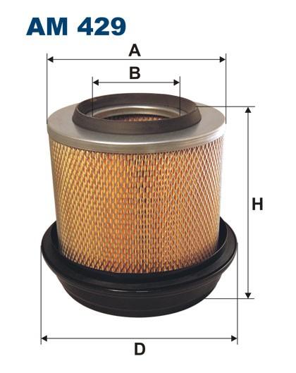 Filtr powietrza AM 429 [AM429] FILTRON