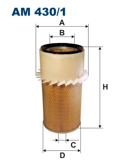 Filtr powietrza AM 430/1 [AM4301] FILTRON