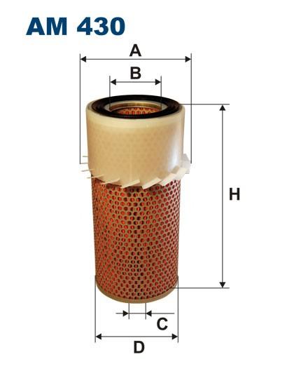 Filtr powietrza AM 430 [AM430] FILTRON