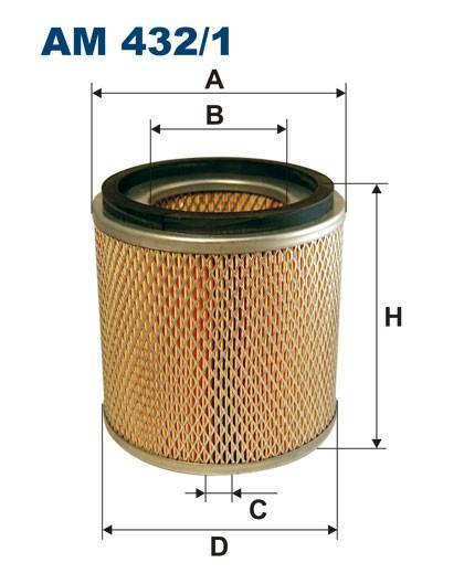 Filtr powietrza AM 432/1 [AM4321] FILTRON