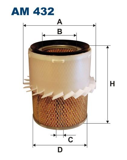 Filtr powietrza AM 432 [AM432] FILTRON