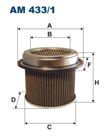 Filtr powietrza AM 433/1 [AM4331] FILTRON