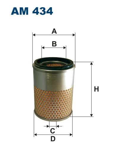 Filtr powietrza AM 434 [AM434] FILTRON