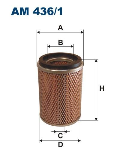 Filtr powietrza AM 436/1 [AM4361] FILTRON