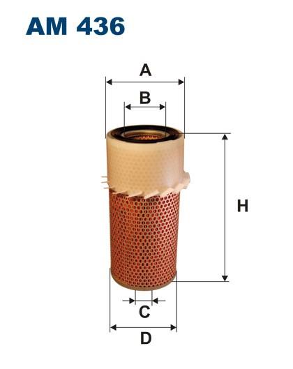 Filtr powietrza AM 436 [AM436] FILTRON