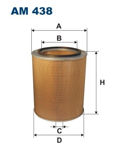 Filtr powietrza AM 438 [AM438] FILTRON