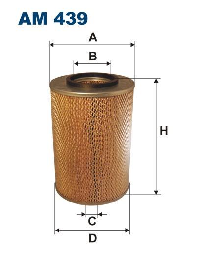 Filtr powietrza AM 439 [AM439] FILTRON