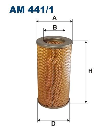 Filtr powietrza AM 441/1 [AM4411] FILTRON