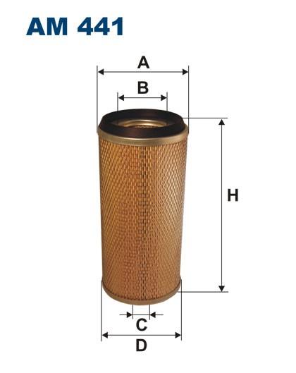 Filtr powietrza AM 441 [AM441] FILTRON