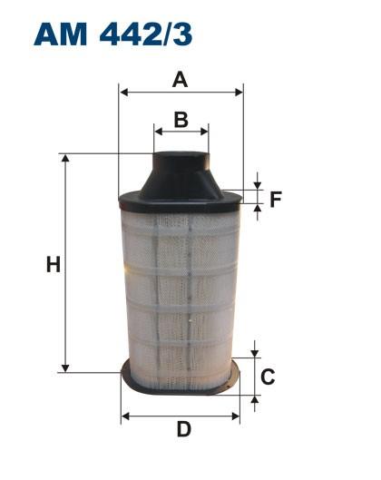 Filtr powietrza AM 442/3 [AM4423] FILTRON