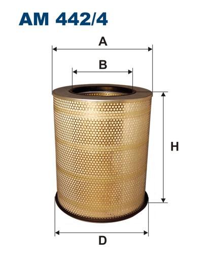 Filtr powietrza AM 442/4 [AM4424] FILTRON