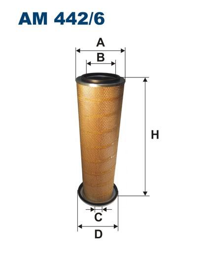 Filtr powietrza AM 442/6 [AM4426] FILTRON