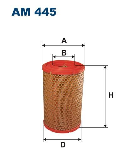 Filtr powietrza AM 445 [AM445] FILTRON
