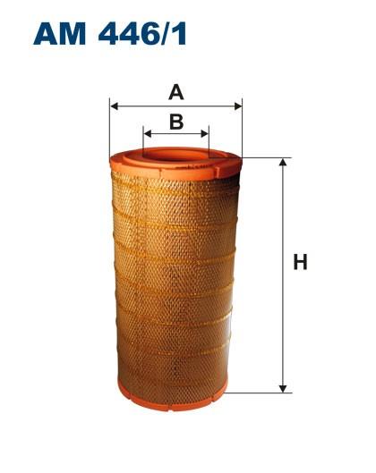 Filtr powietrza AM 446/1 [AM4461] FILTRON