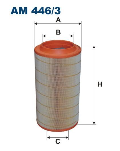 Filtr powietrza AM 446/3 [AM4463] FILTRON