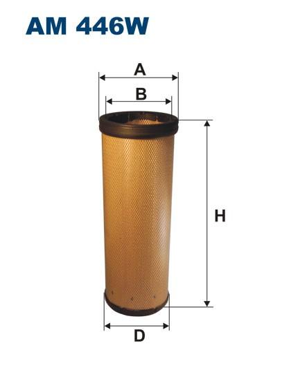 Filtr powietrza AM 446W [AM446W] FILTRON