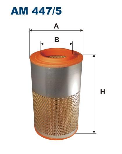 Filtr powietrza AM 447/5 [AM4475] FILTRON