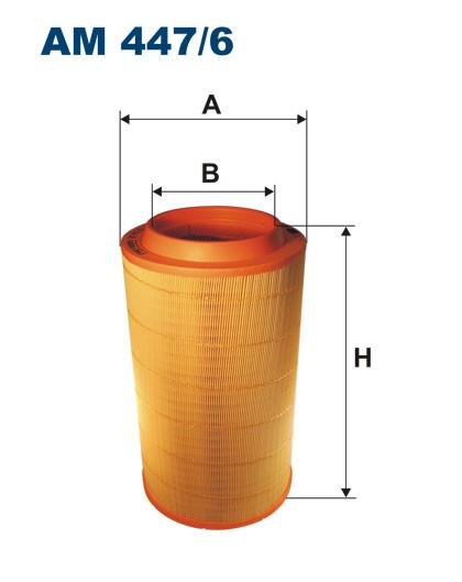 Filtr powietrza AM 447/6 [AM4476] FILTRON