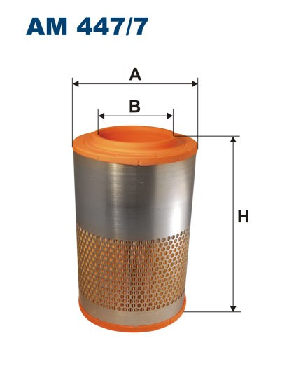 Filtr powietrza AM 447/7 [AM4477] FILTRON