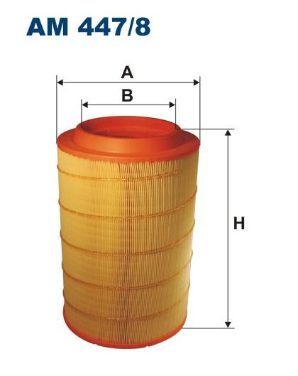 Filtr powietrza AM 447/8 [AM4478] FILTRON