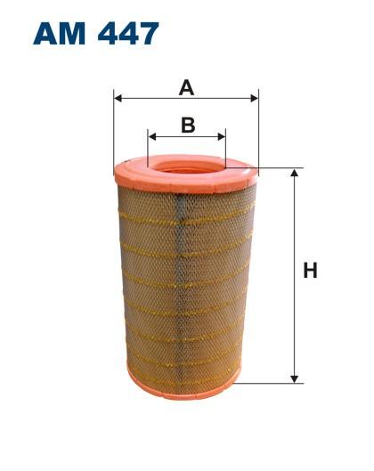 Filtr powietrza AM 447 [AM447] FILTRON