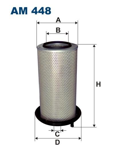 Filtr powietrza AM 448 [AM448] FILTRON