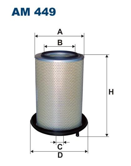 Filtr powietrza AM 449 [AM449] FILTRON
