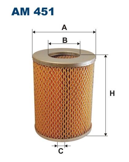 Filtr powietrza AM 451 [AM451] FILTRON