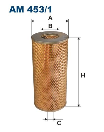 Filtr powietrza AM 453/1 [AM4531] FILTRON