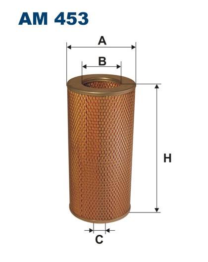Filtr powietrza AM 453 [AM453] FILTRON