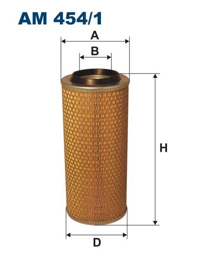Filtr powietrza AM 454/1 [AM4541] FILTRON
