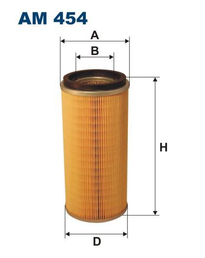 Filtr powietrza AM 454 [AM454] FILTRON
