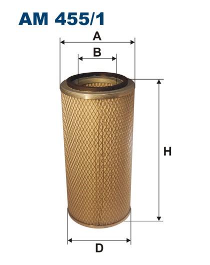 Filtr powietrza AM 455/1 [AM4551] FILTRON