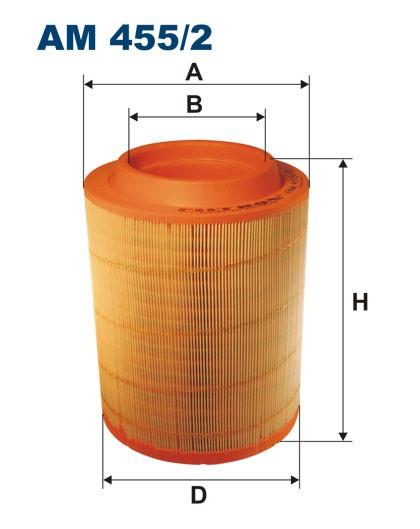Filtr powietrza AM 455/2 [AM4552] FILTRON