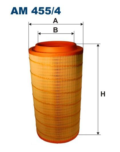 Filtr powietrza AM 455/4 [AM4554] FILTRON