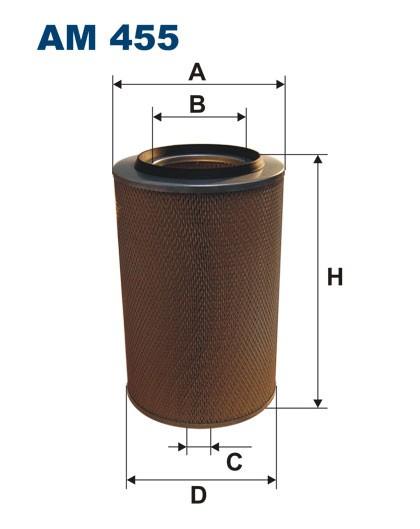 Filtr powietrza AM 455 [AM455] FILTRON