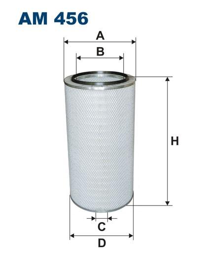 Filtr powietrza AM 456 FILTRON [AM456]